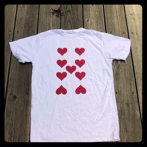 BRANDY MELVILLE Aleena Hearts Top